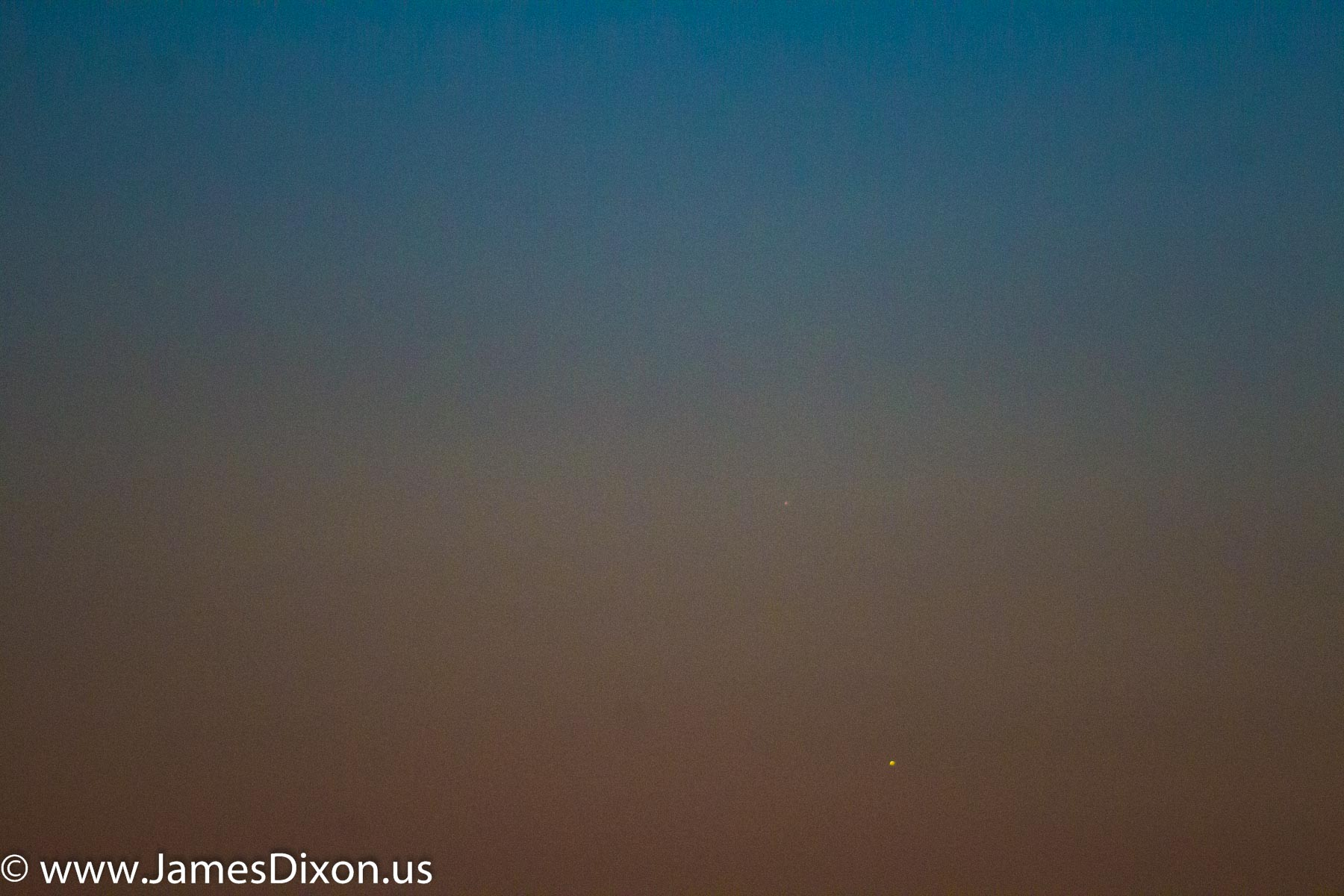 Venus and Mercury, July 17, 2017 July 2016 1162